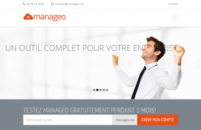 Manageo, Logiciel de gestion en mode SaaS